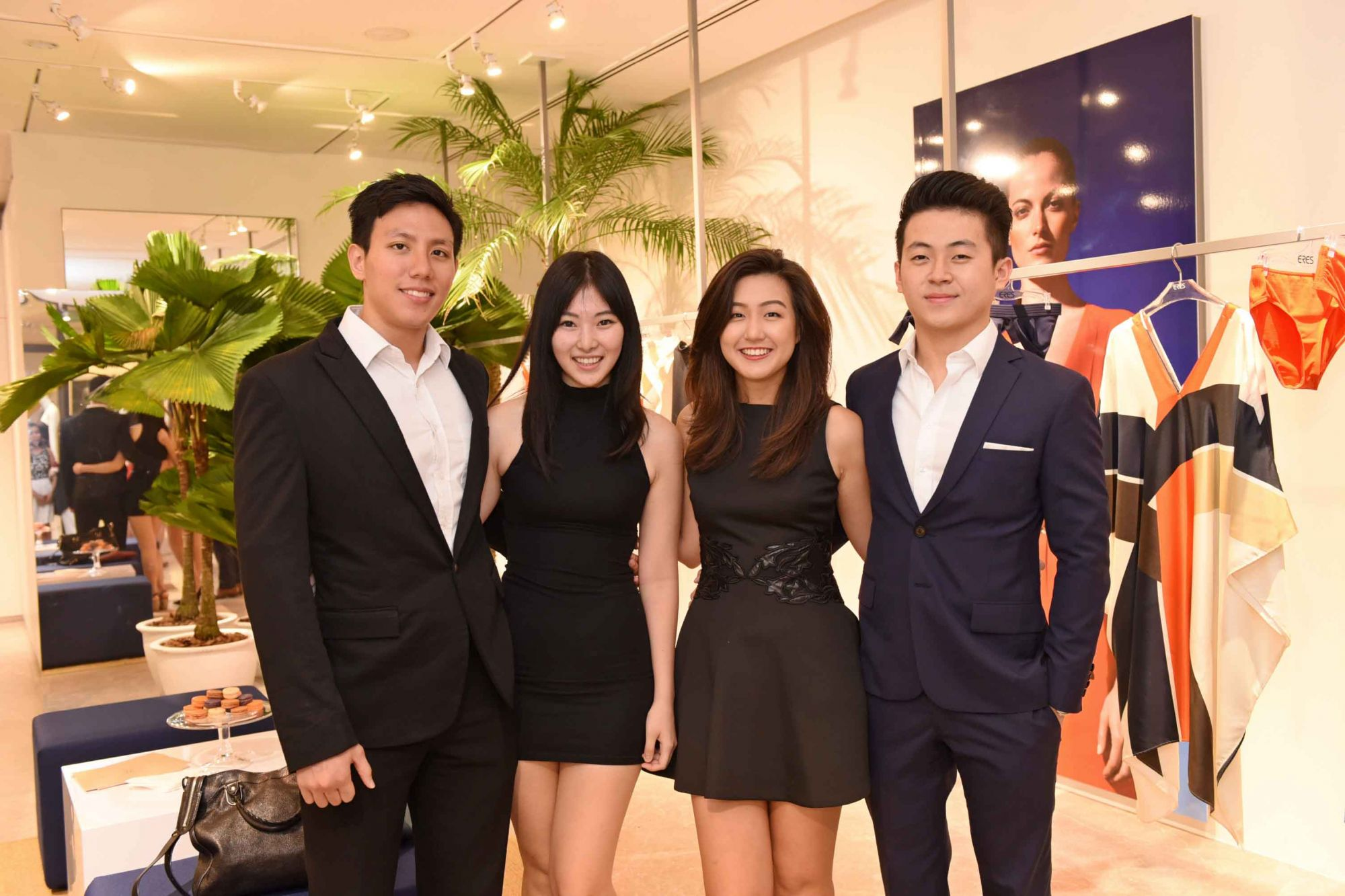 Reuben Teng, Nicole Lim, Charmain Kwee, Shaun Ou