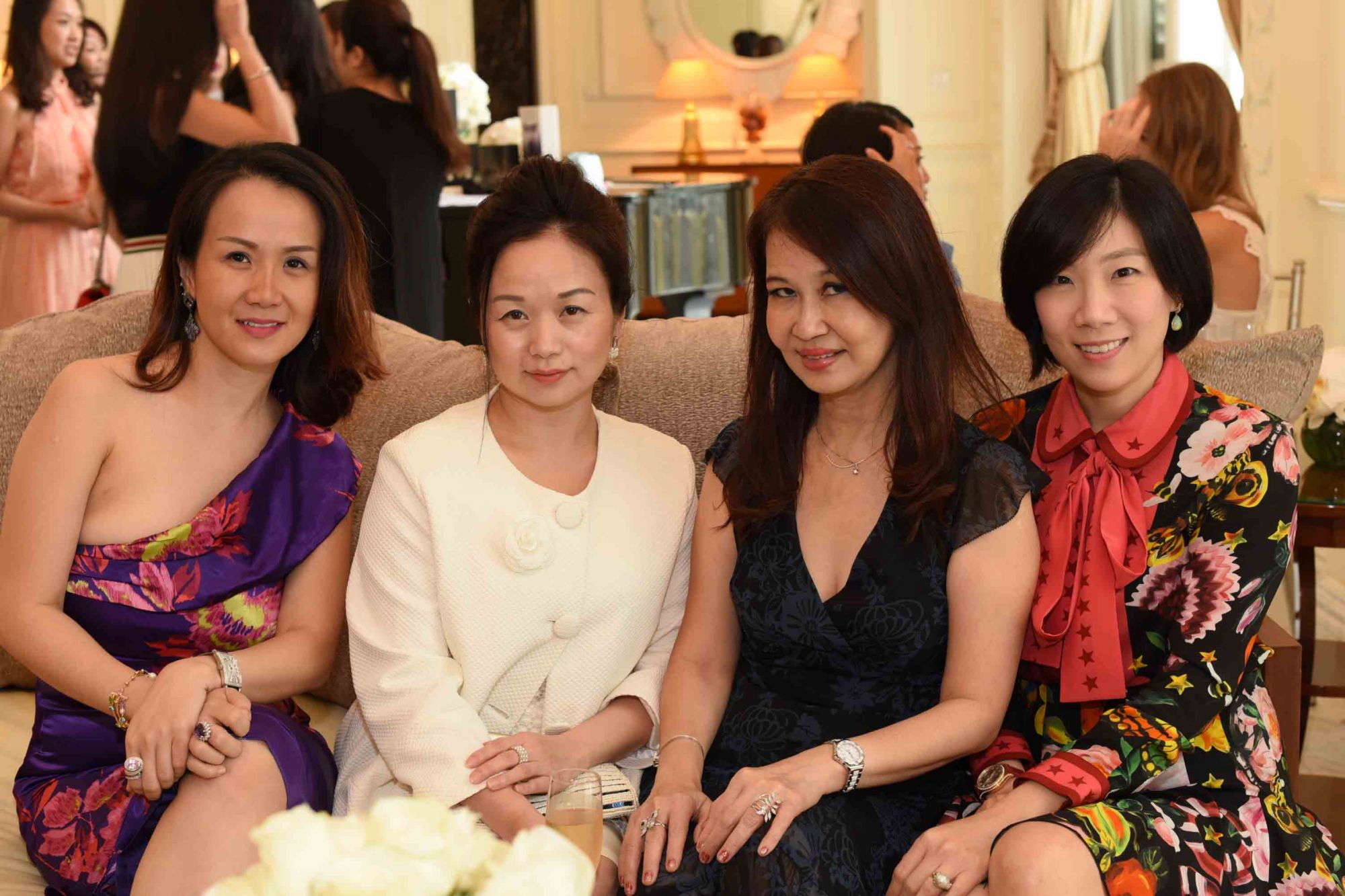 Nancy Low, Tonya Tan, Evelyn Sam, Angela Hwee