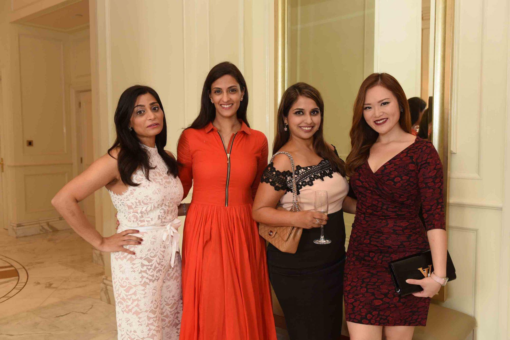 Seema Bhojwani, Shireena Shroff, Sunita Gill, Sabrina Hunter