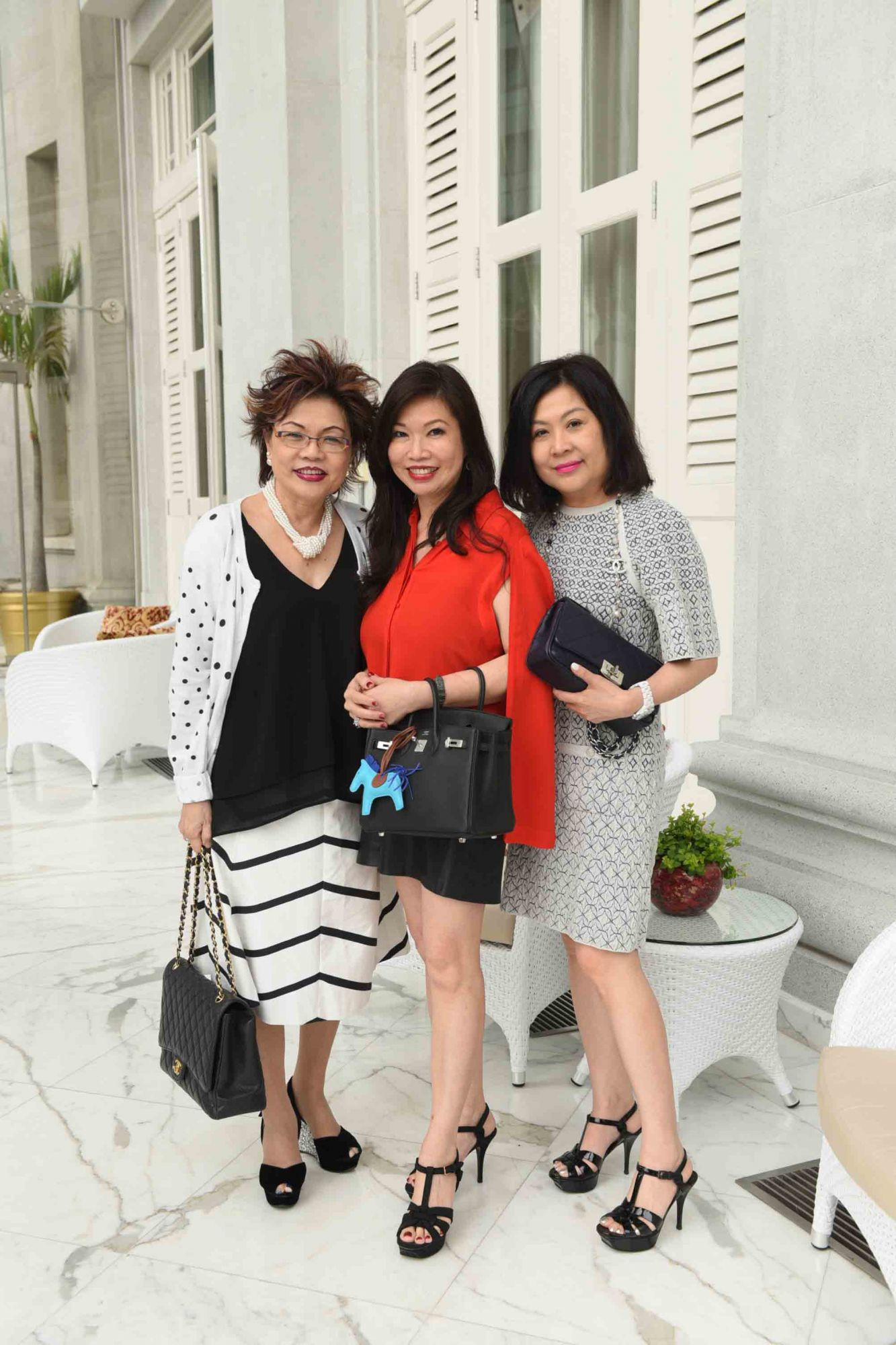 Doris Tan, Jessie Ho-Thong, Lilian Low