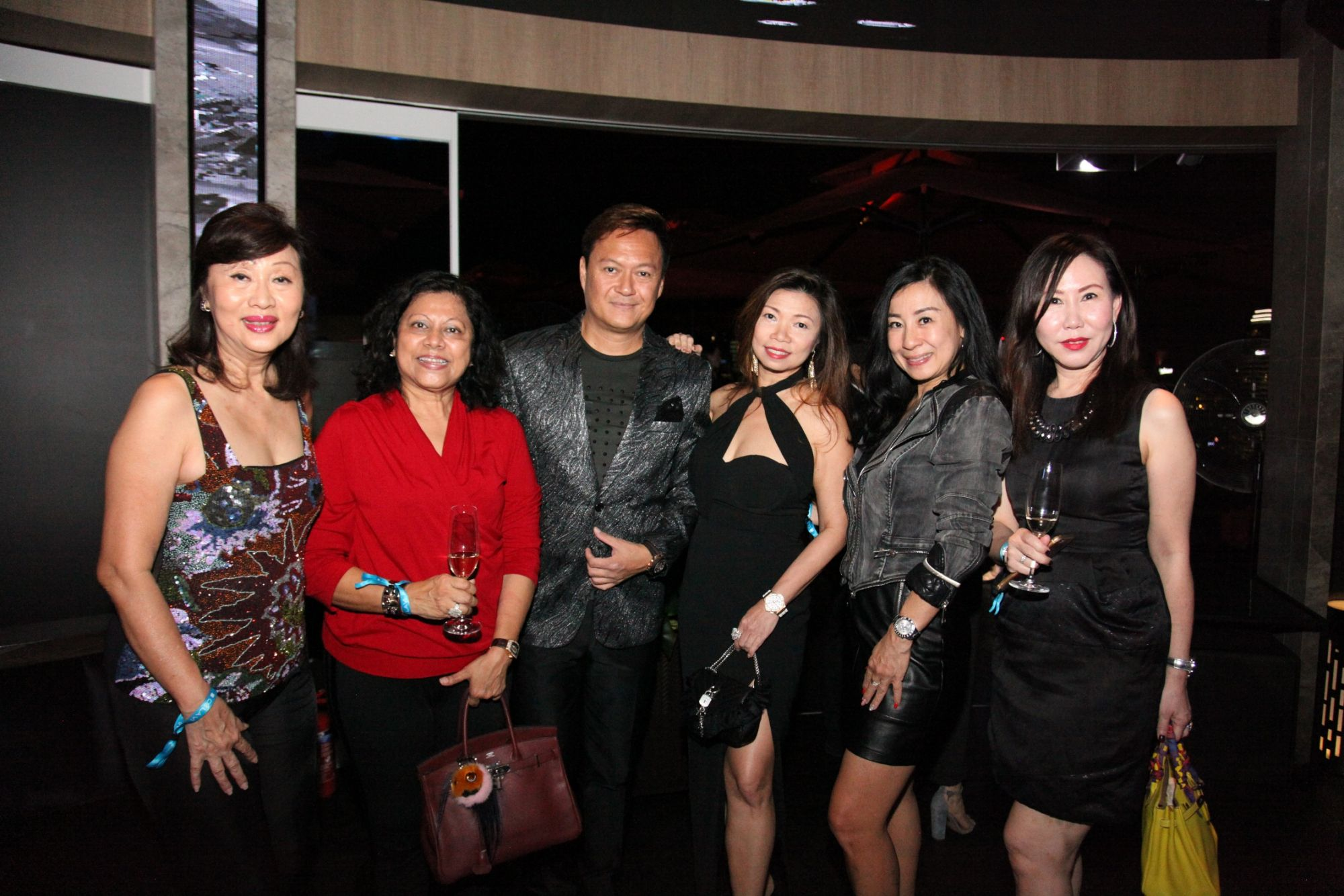 Evelyn Tan, Linda Boh, Raymond Cheok, Lucy Cheok, Mildred Kuek, Michelle Chan