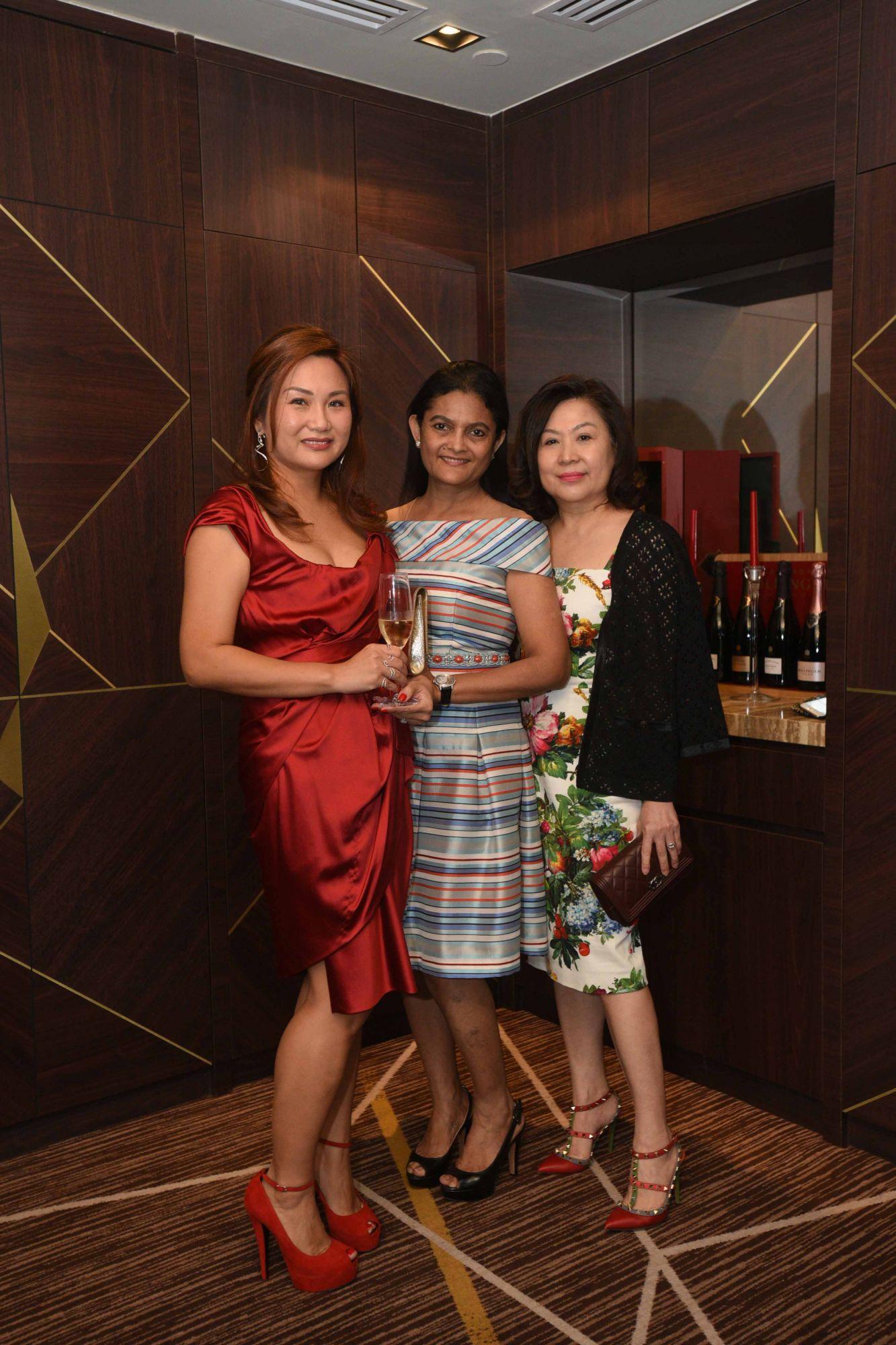 Selina Low, Manisha Sheth, Lilian Low