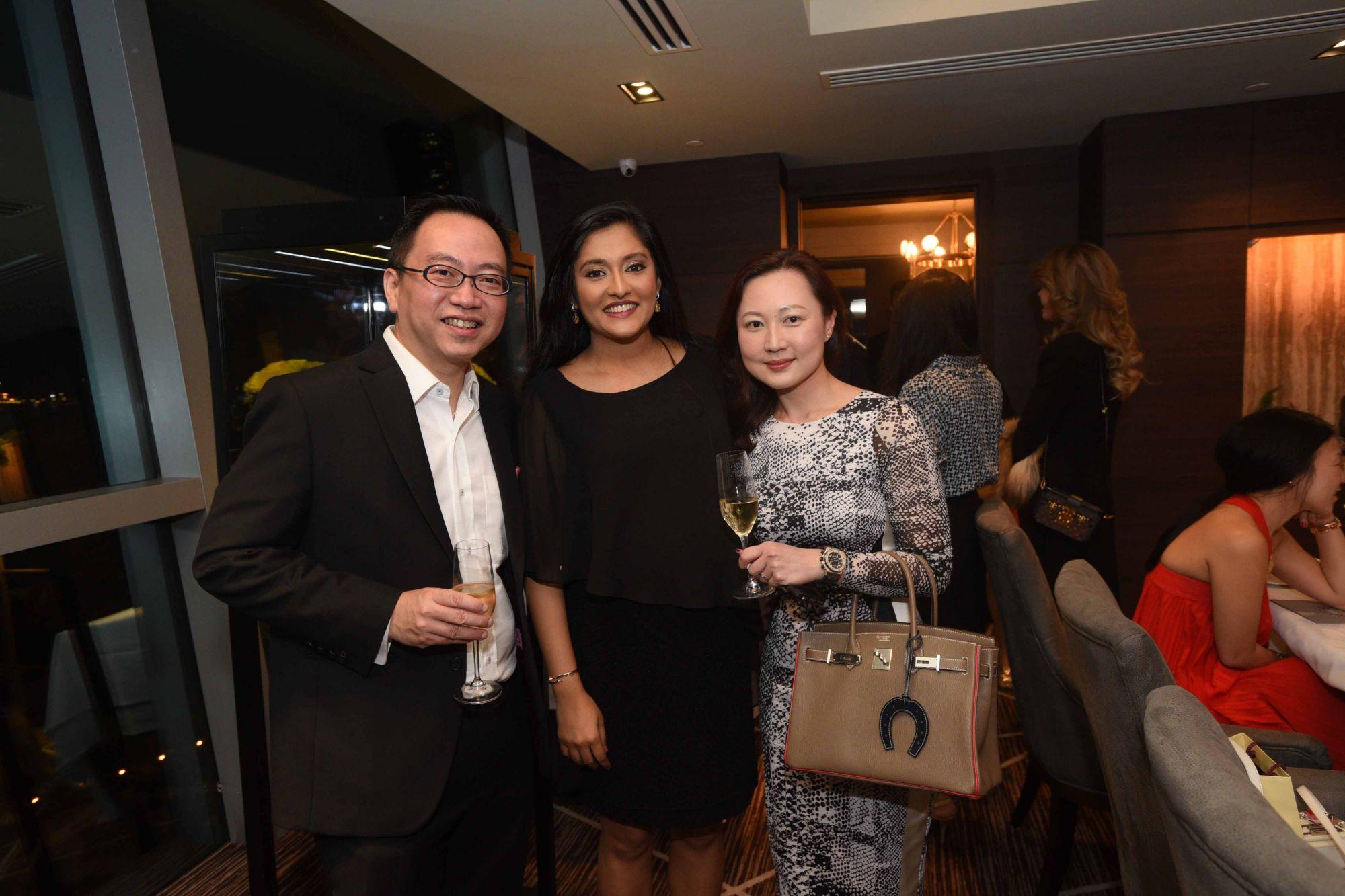 Christopher Chan, Vihari Sheth, Lee Li Lin