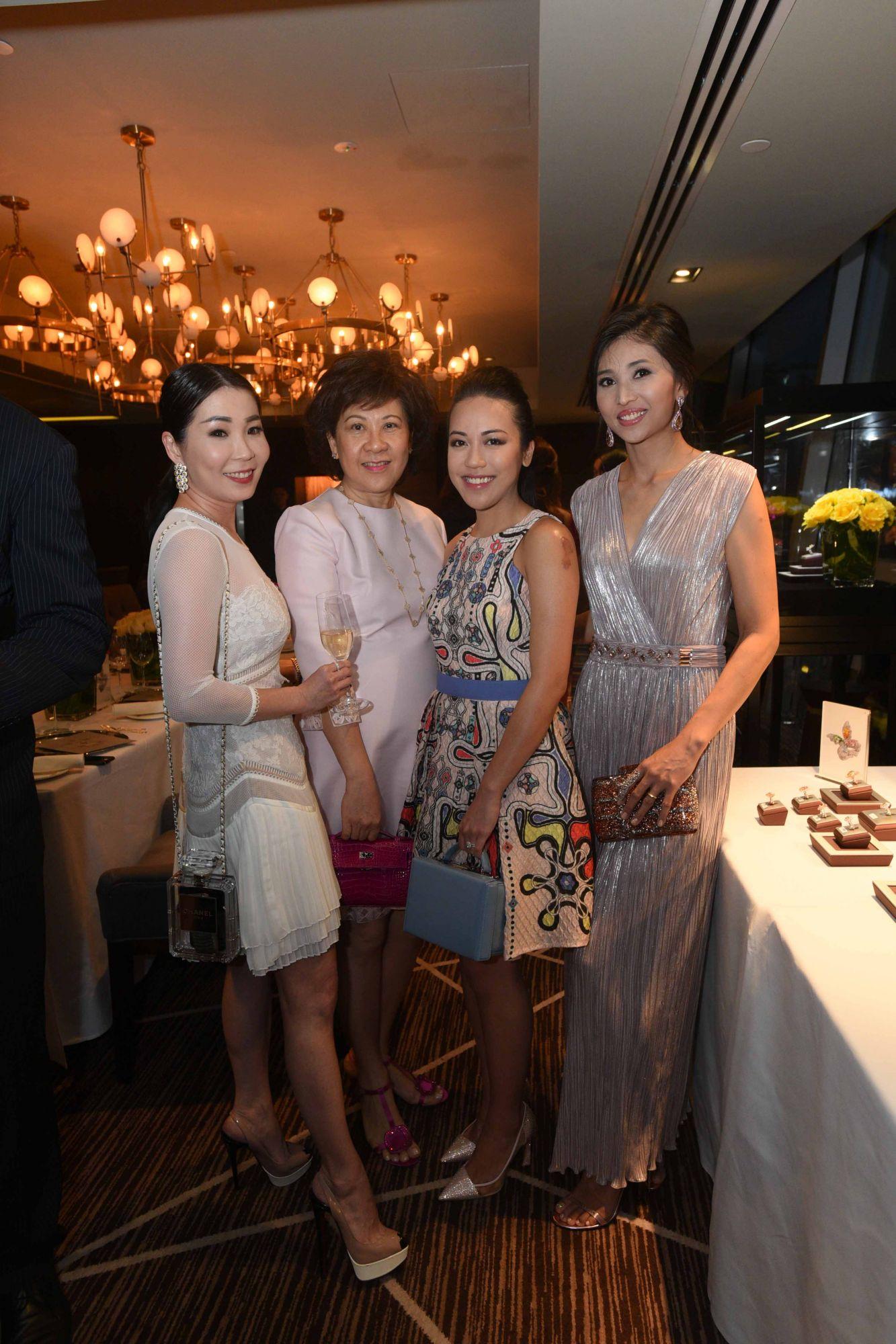 Elaine Lim-Chan, Ow Pui Yee, Carmen Ow, Karen Ong-Tan