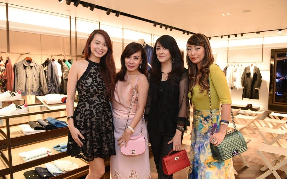 Karen Low, Shirley Kuan, Angela Poppy, Maison Mulia Eve