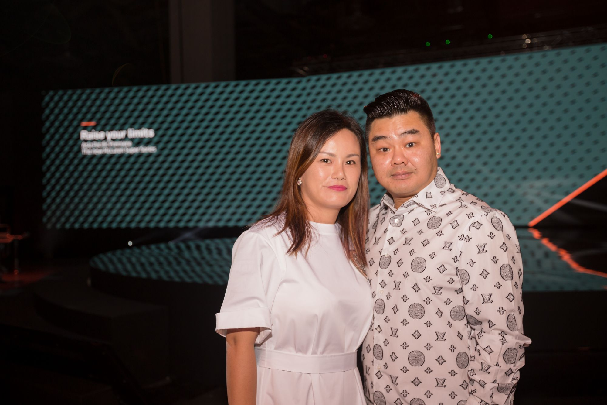 Kelvin Lim and wife