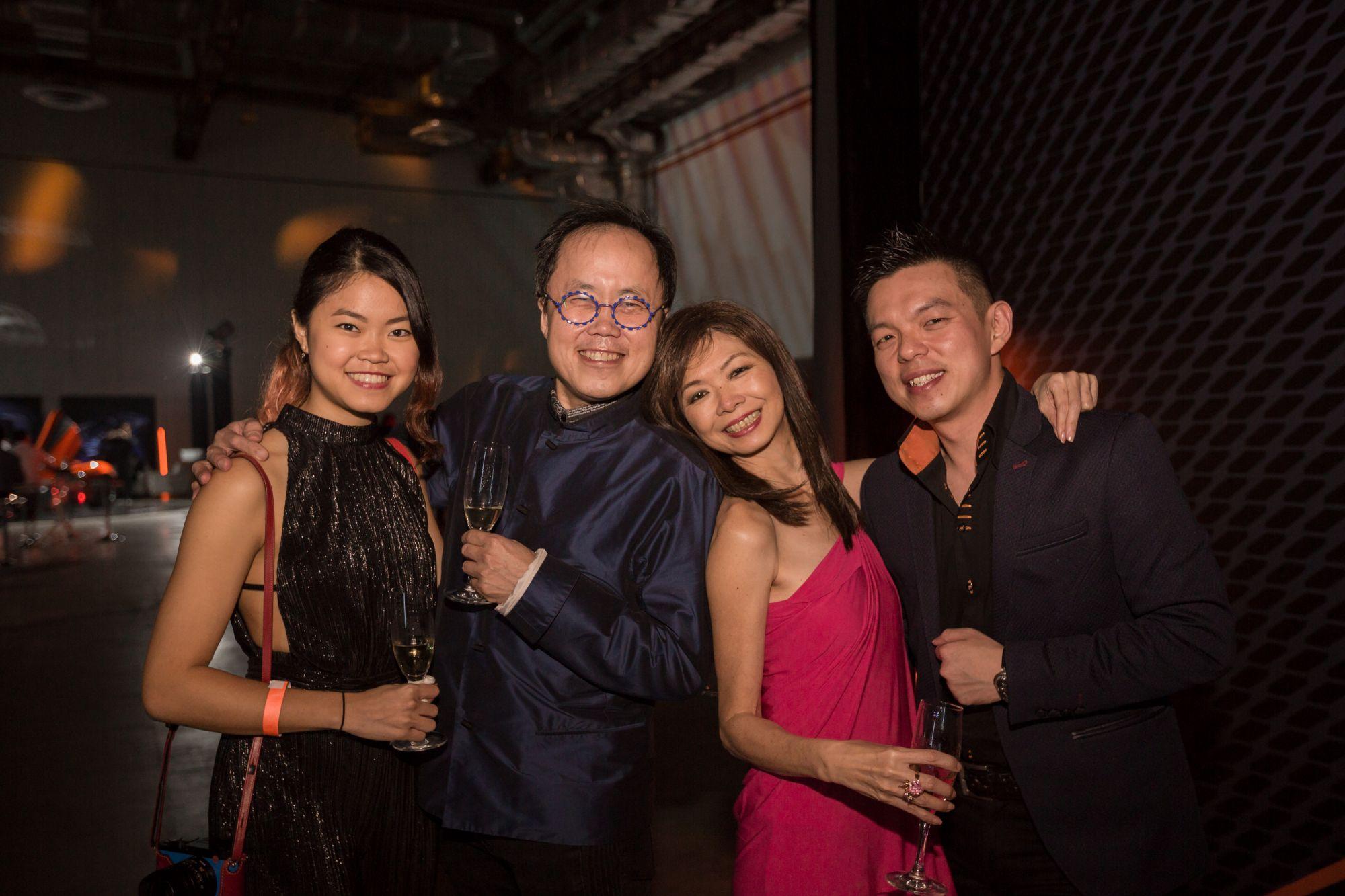 Cheryl Cheong, Bernard Cheong, Dolly Cheong, Adrian Ng