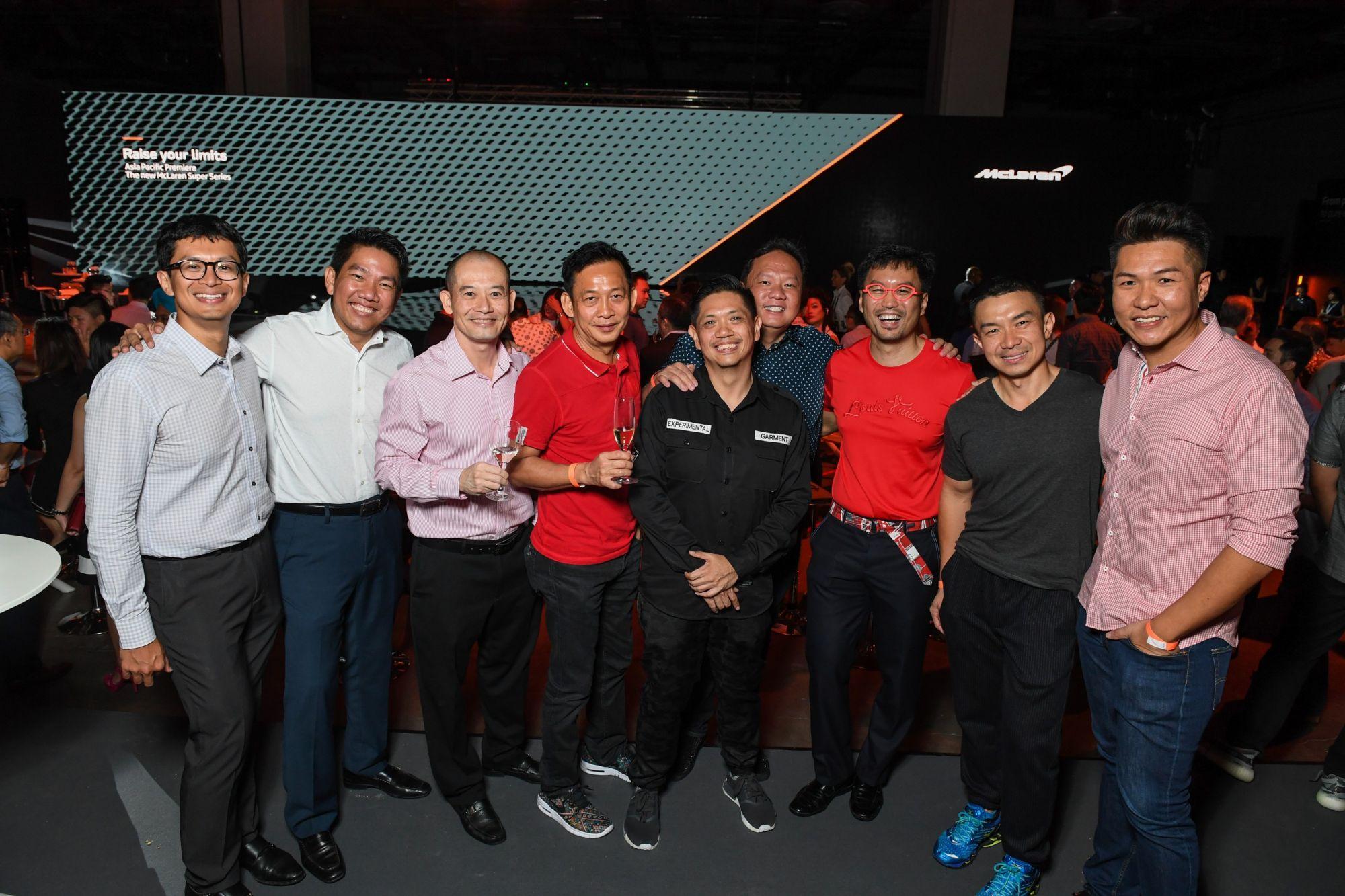 Azim Hassanbhai, George Kong, Chris Lim, Charlie Lee, Stanley Ng, Ho Kok Sen, Roger Chng, Roland Chong, Kelvin Teo