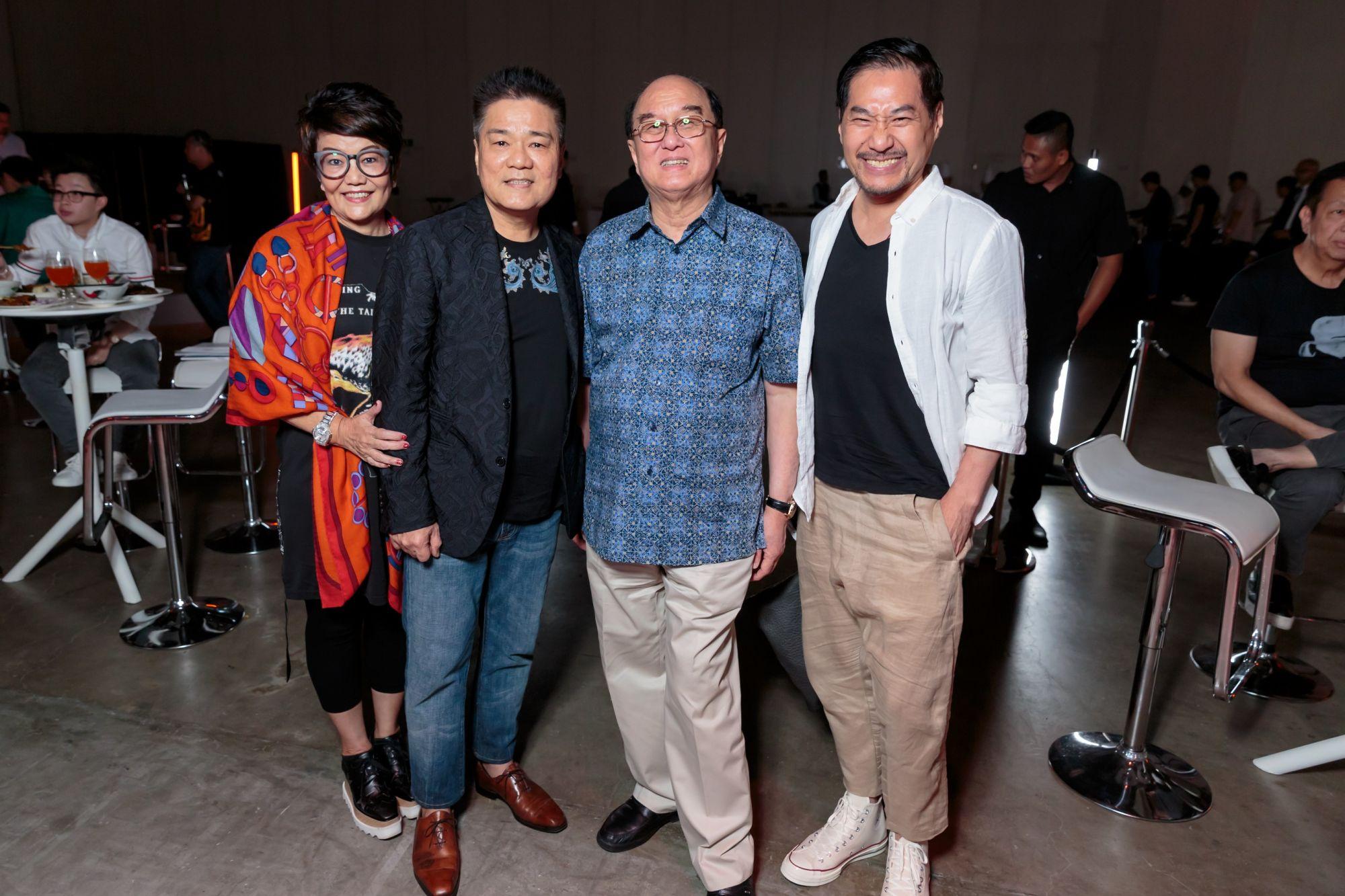 May Ow Yong, Ken Loy, Karsono Kwee, Wen Zhang