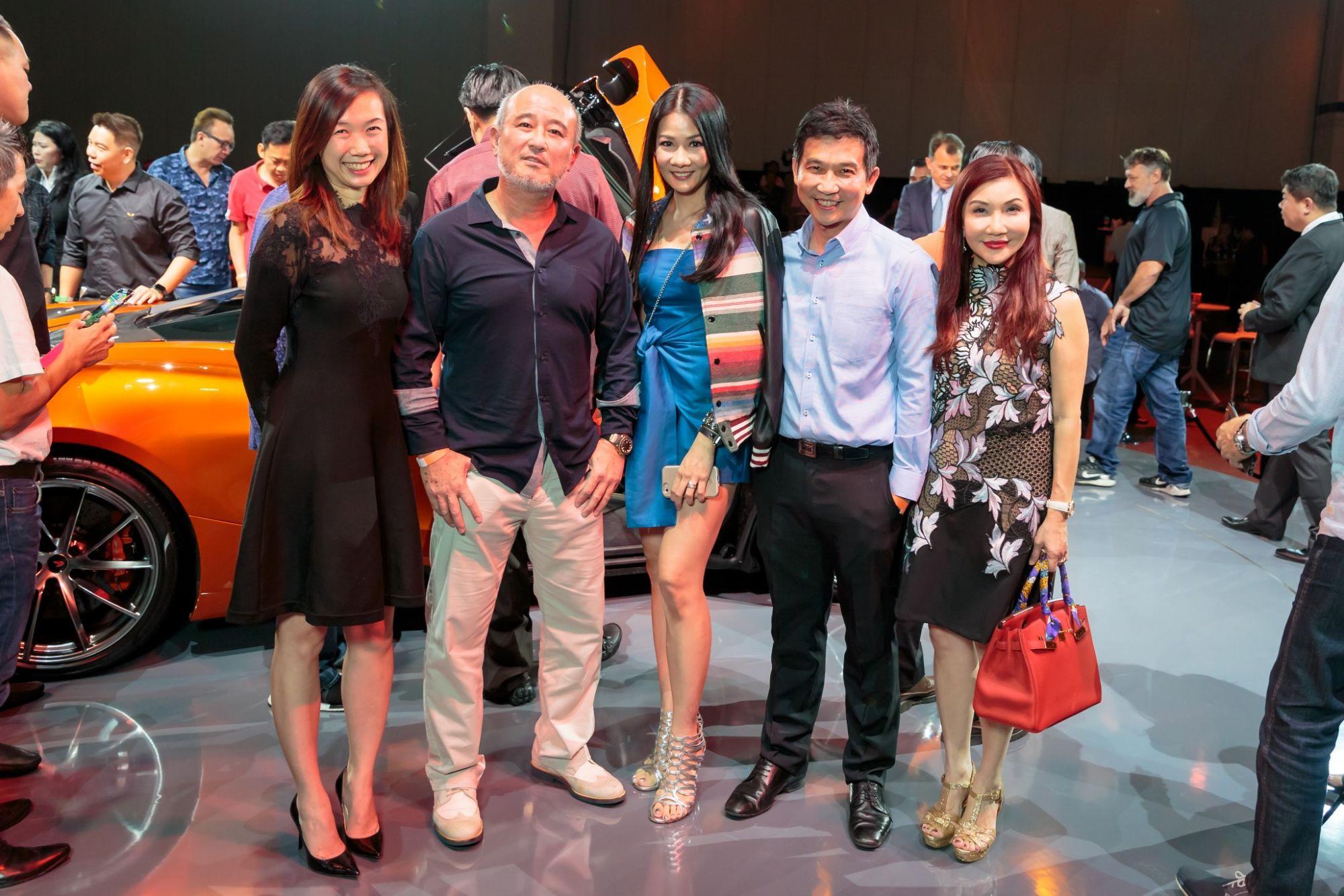 Renee Chua, Jes Wong, Lynn Teo, Lee Hung Ming, Janet Lee