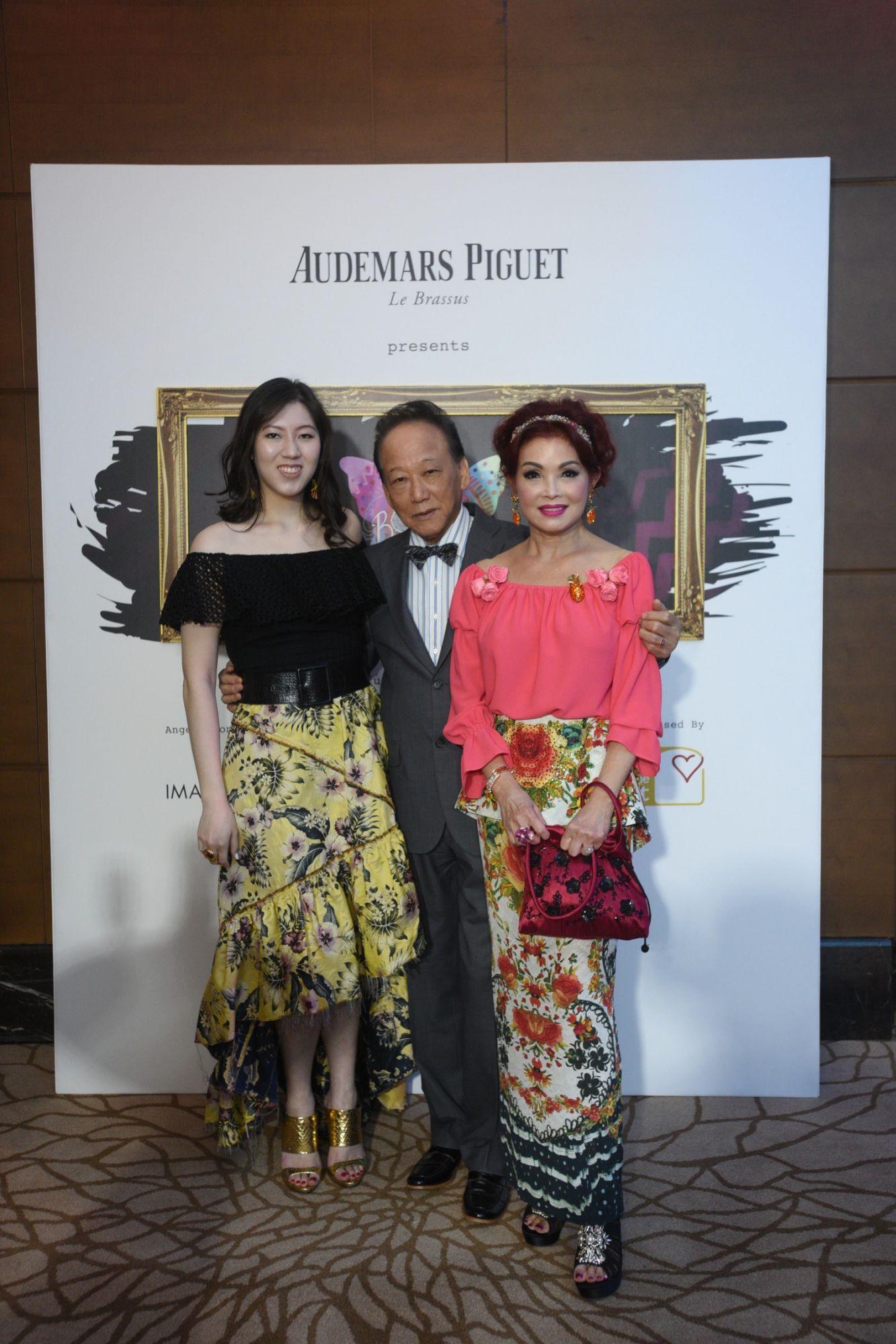 Zeena Tan, Tan Bock Seng, Linda Soo-Tan