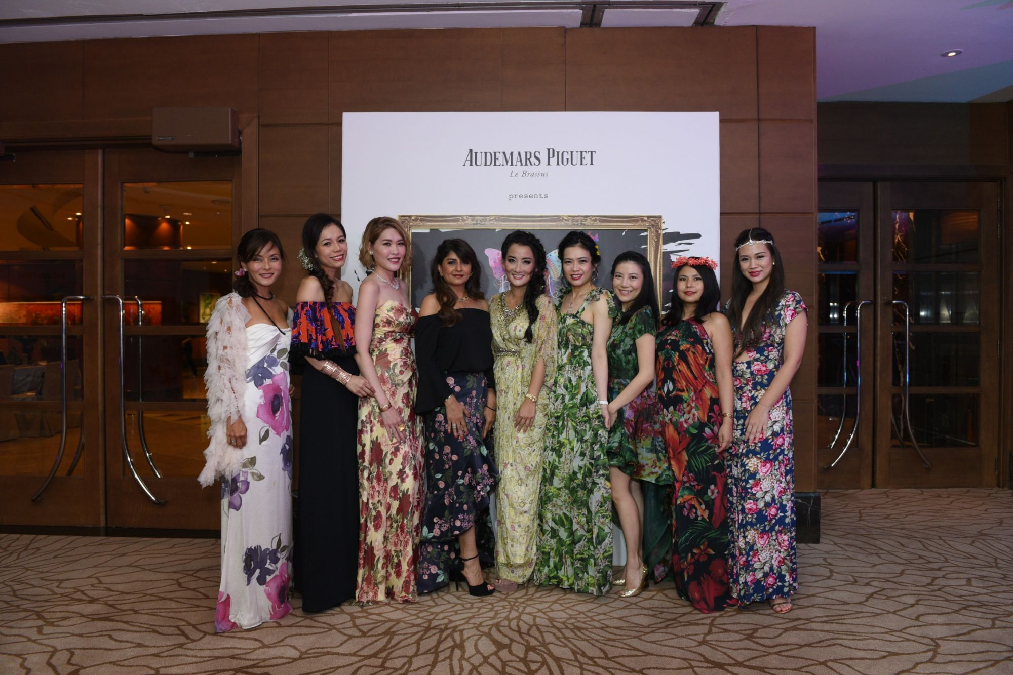 Patricia Yuen, Ginny Wiluan, Michelle Eng, Bina Rampuria, Tiara Shaw, Ho Ching Lin, Jaelle Ang, Marilyn Lum, Tjin Lee