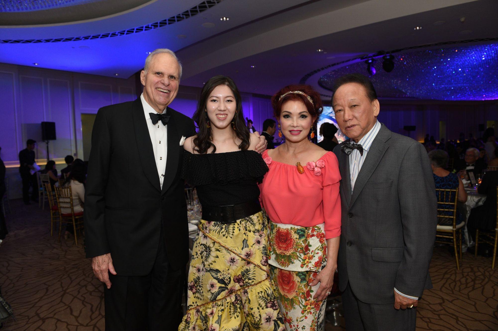 Ronald Stride, Zeena Tan, Linda Soo-Tan, Tan Bock Seng