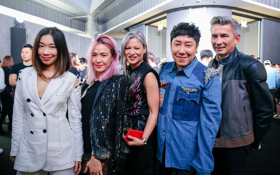 Corinne Ng, Dawn Koh, Margie Van Elten Blommaert, Desmond Lim, Joe Blommaert