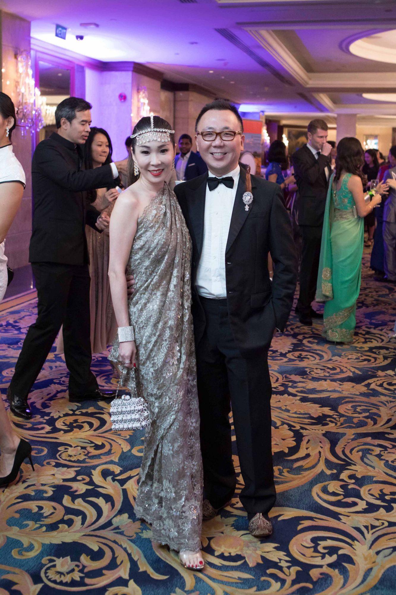 Elaine Lim-Chan, Calvin Chan
