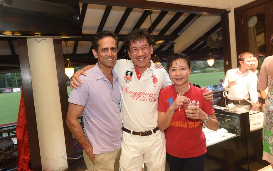 Vinod Kumar, Leon Chu, Margaret Ang