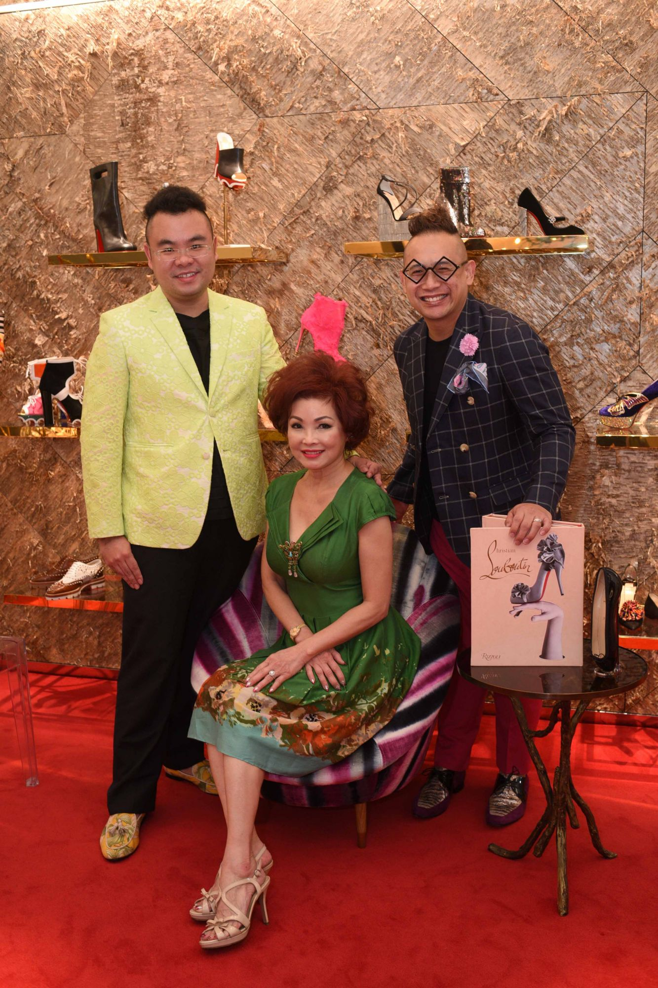 Ryan Su, Linda Soo-Tan, Adrian Chan