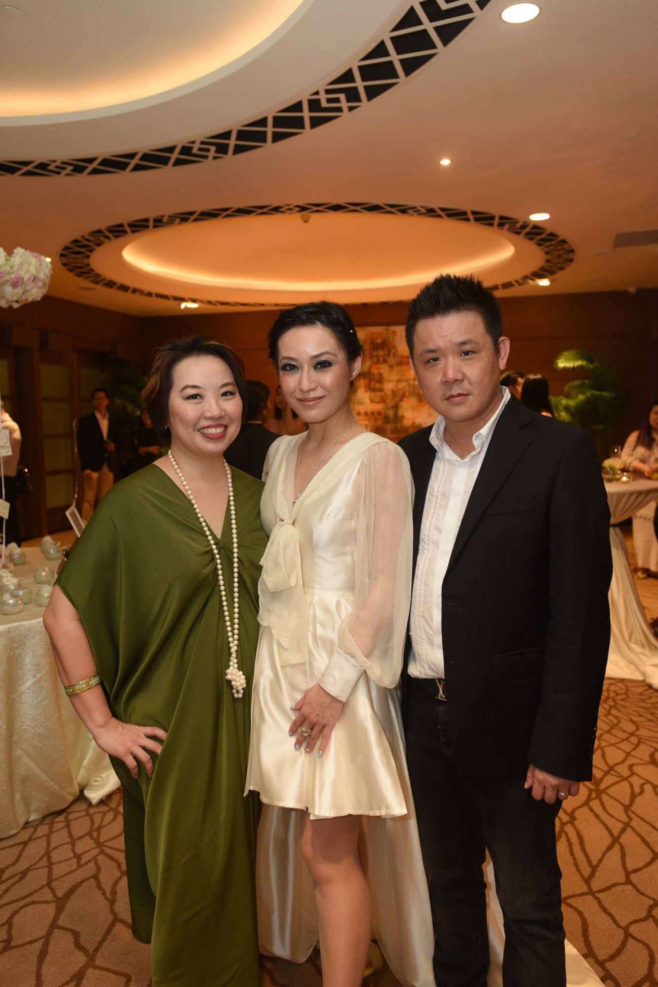 Jane Ngiam, Nina Ng, Eddie Ng