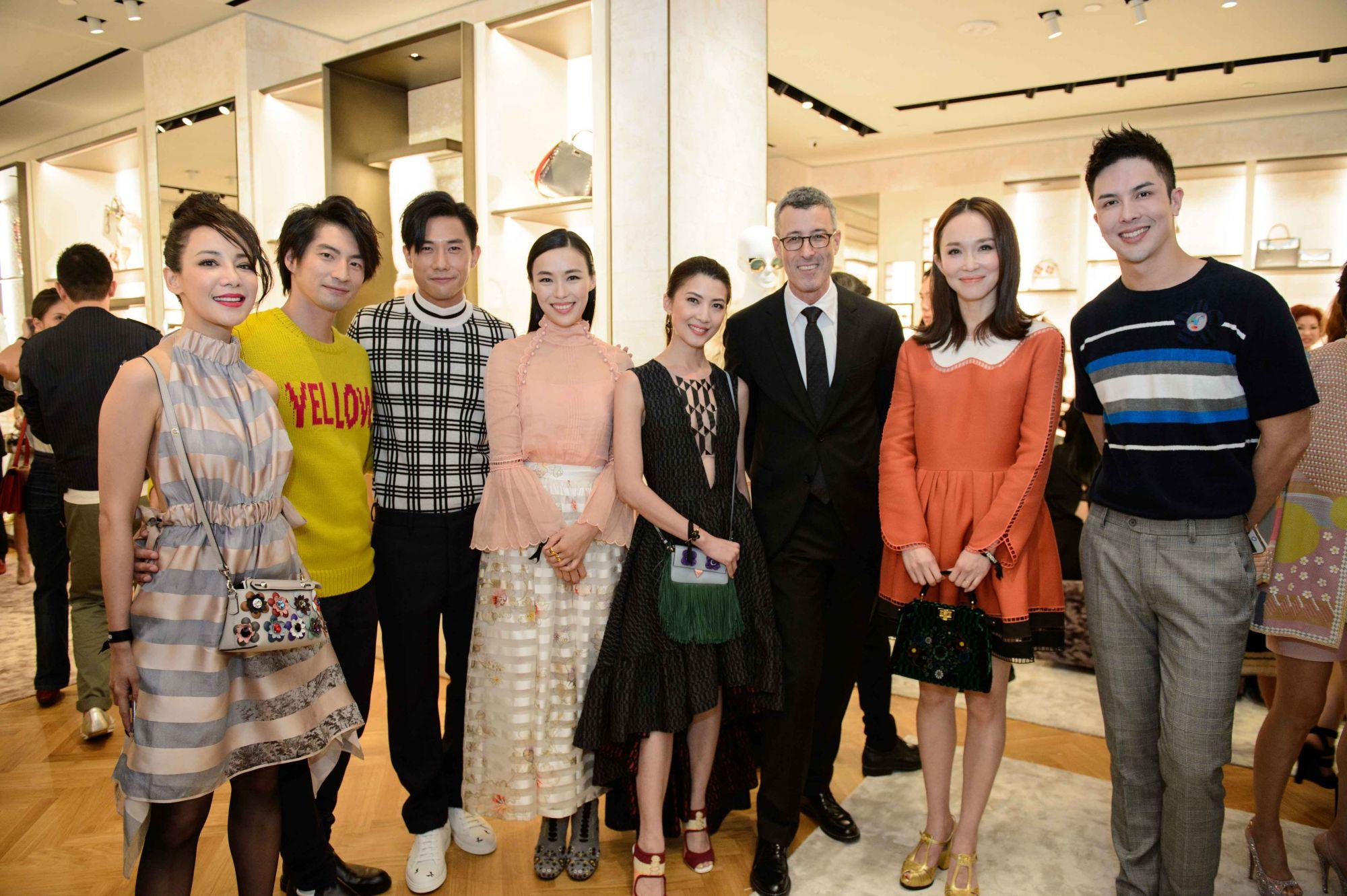Fiona Xie, Yusuke, Desmond Tan, Rebecca Lim, Jeanette Aw, Andrea Crippa, Fann Wong, Teddy Tang