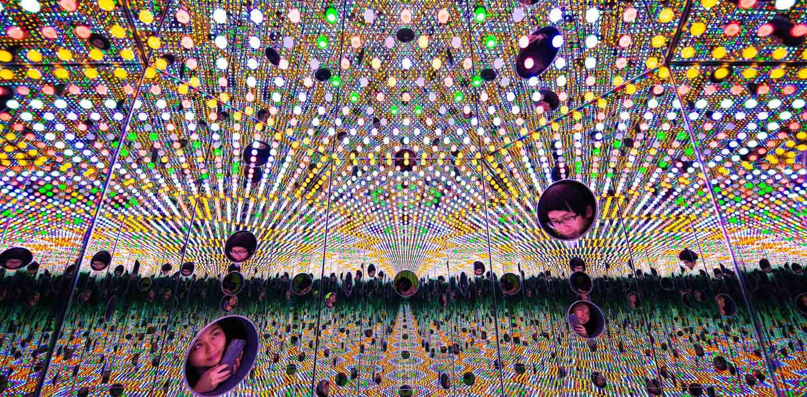 A Sneak Peek At Yayoi Kusama: Life Is The Heart Of A Rainbow
