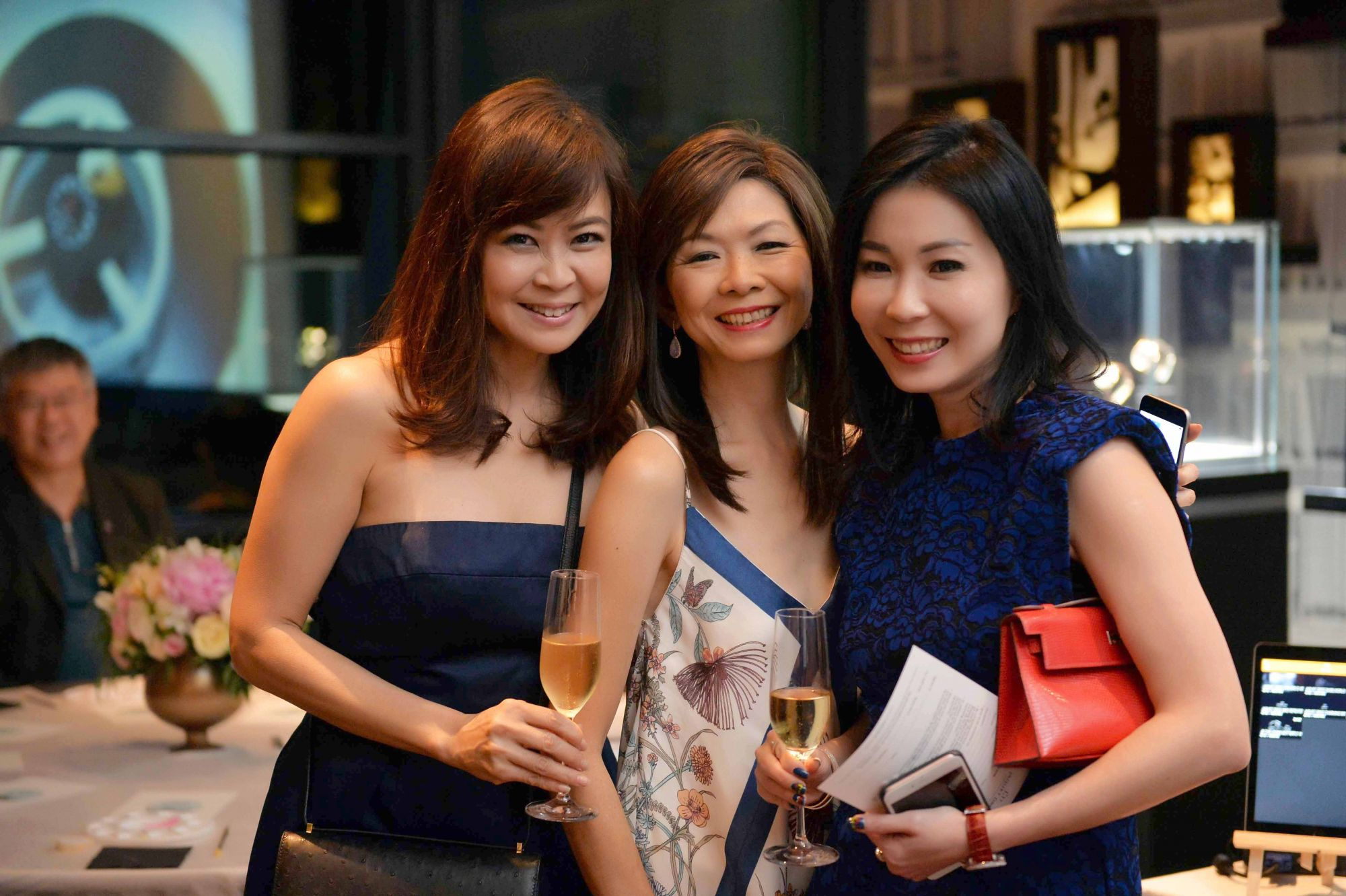 Alicia Thian, Dolly Cheong, Elaine Lim-Chan
