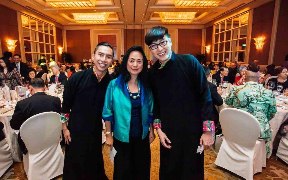 Samuel Wong, Claire Chiang, Yang Ji Wei