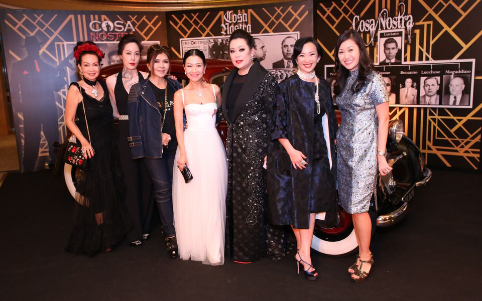 Celeste Basapa, Sybil Lau, Belinda Chua, Dana Cheong, Cheryl Lee, Caroline Low-Heah, Tang Wen Li