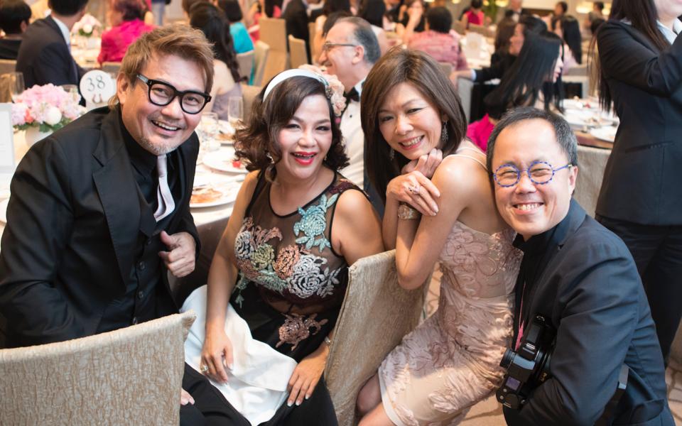 Mervin Wee, Jean Yip, Dolly Cheong, Bernard Cheong