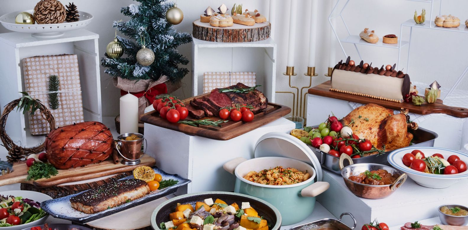 All the sumptuous dishes you can sink your teeth into, thanks to Megu Catering Concepts
