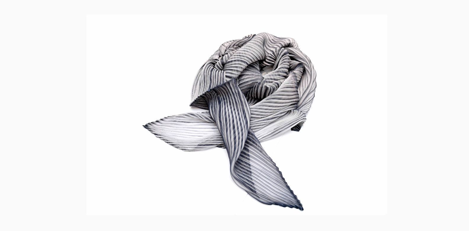 Pleats Please by Issey Miyake scarf