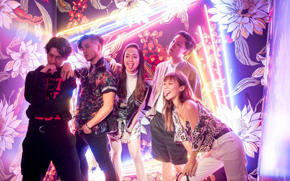 Randolph Tan, Benjamin Kheng, Fiona Fussi, Jon Chua, Mae Tan