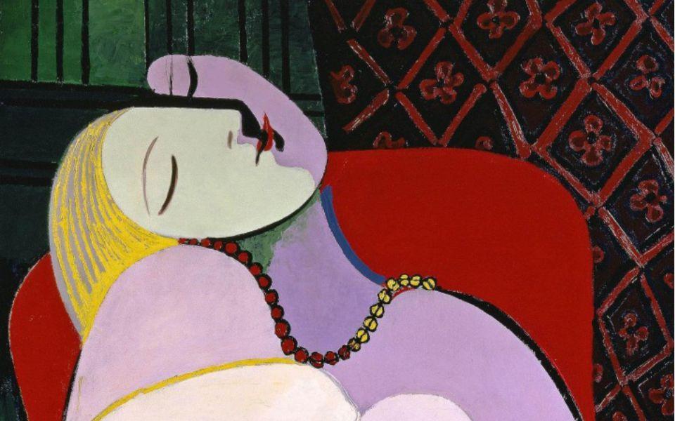 Pablo Picasso, 'The Dream' (Le Rêve) 1932. Image: courtesy of Succession Picasso/DACS