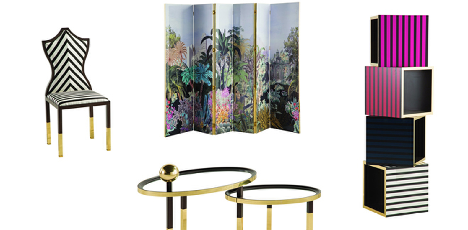 roche bobois and christian lacroix collaborate for furniture collection singapore tatler. Black Bedroom Furniture Sets. Home Design Ideas