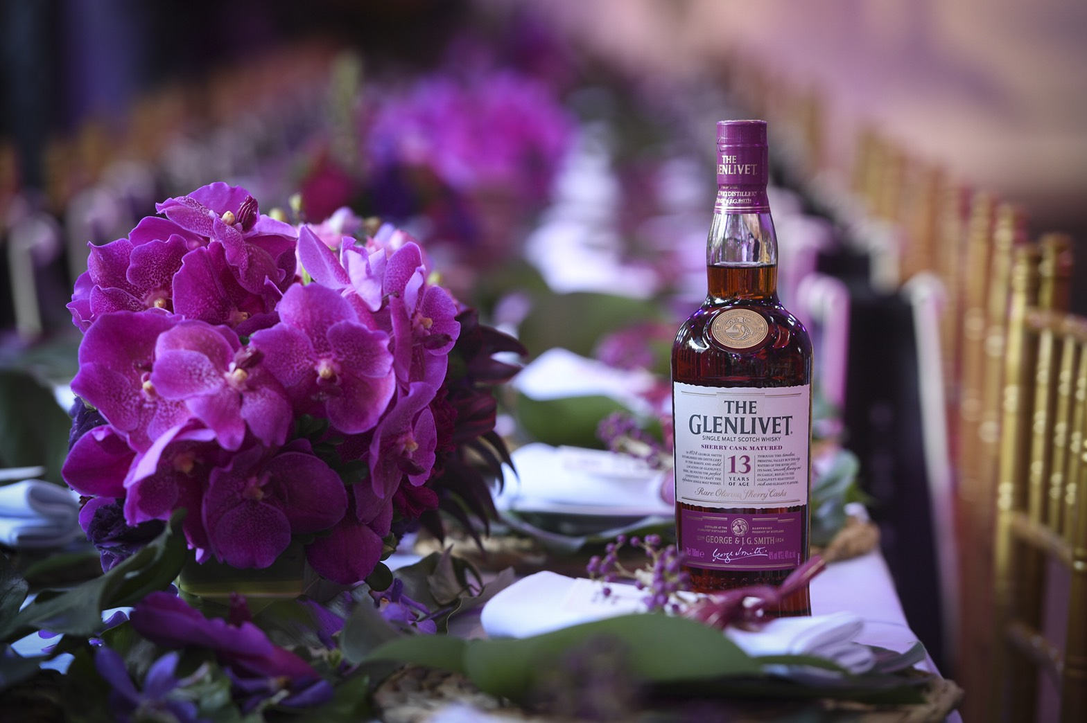 格蘭利威13年雪莉桶單一麥芽蘇格蘭威士忌現場情境圖。_02.jpg