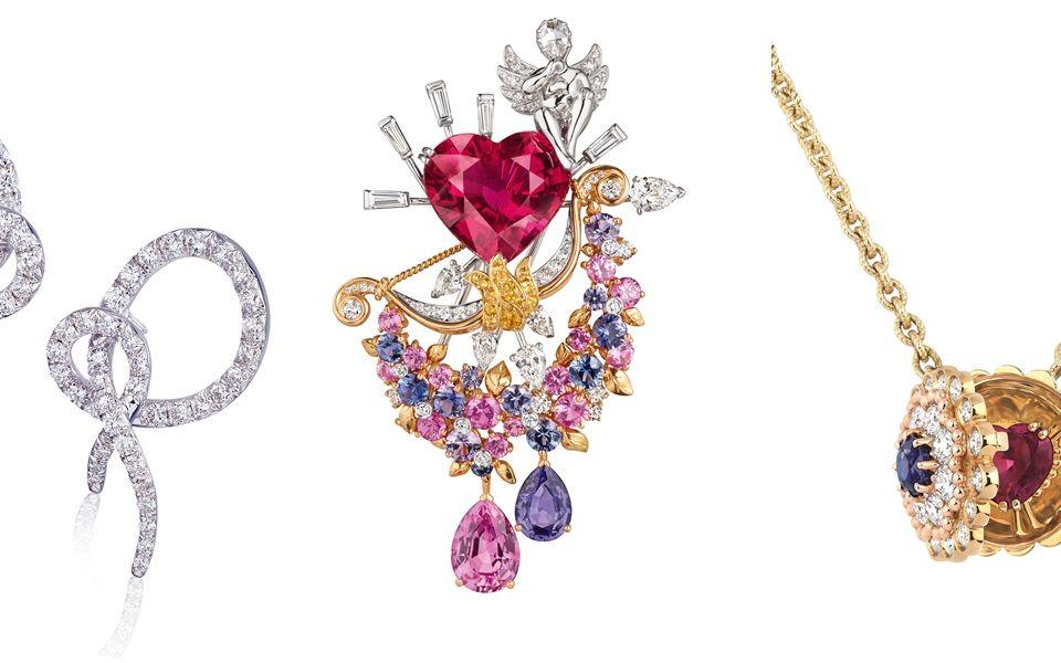 (由左至右)ANNA HU, Van Cleef & Arpels, Dior
