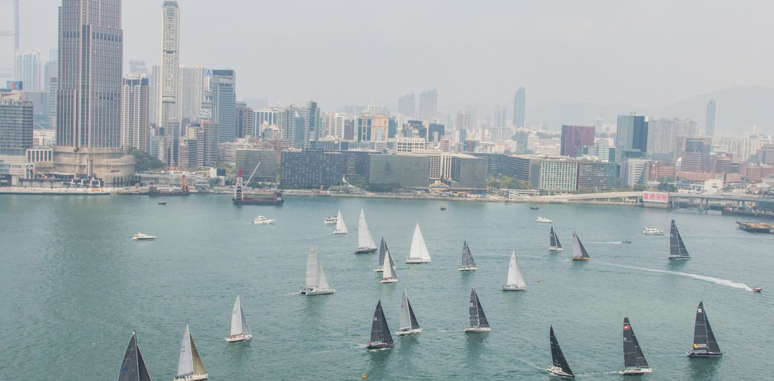 2018勞力士中國海帆船賽正式開始 ©Rolex, Daniel Forster