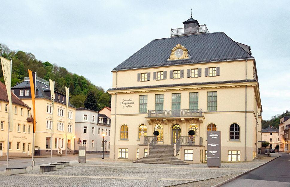 格拉蘇蒂德國鐘錶博物館by Glashütte Original。