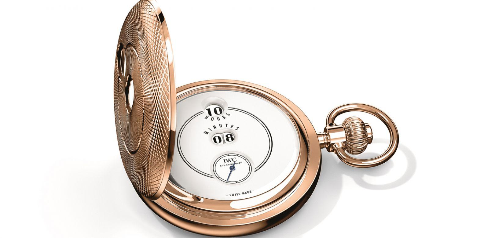 致敬波威柏(Pallweber)150週年特別版懷錶by Iwc。