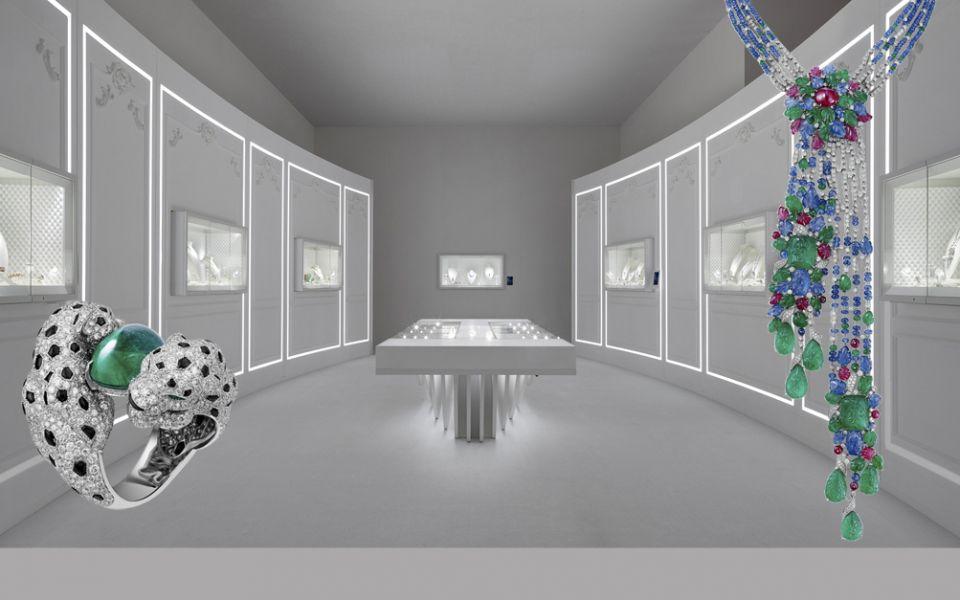 Résonances de Cartier頂級珠寶展by Cartier。