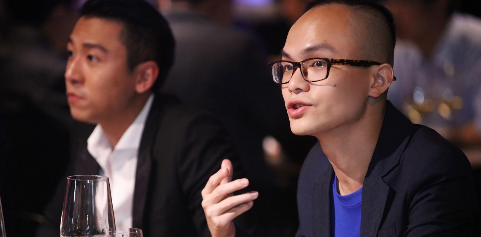 本屆入選者林哲宇。(喝酒不開車,安全有保障)
