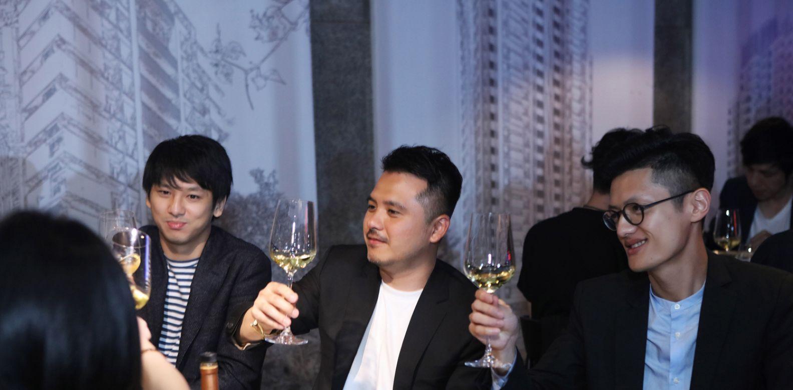 本屆入選者張渝歌、蔡宗賢與顏邑丞。(喝酒不開車,安全有保障)