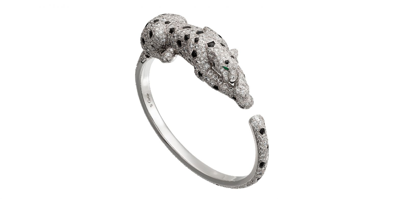 美洲豹 Panthère Lovée 手環。(圖片提供/Cartier)