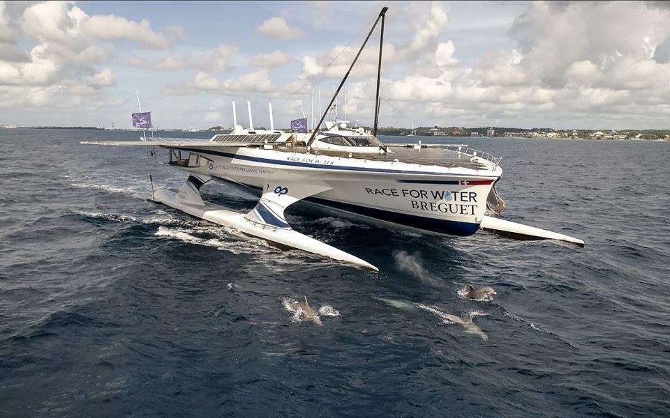 透過與海洋保護基金會的合作計畫,實現與自然共存共榮的美好景象by Breguet。