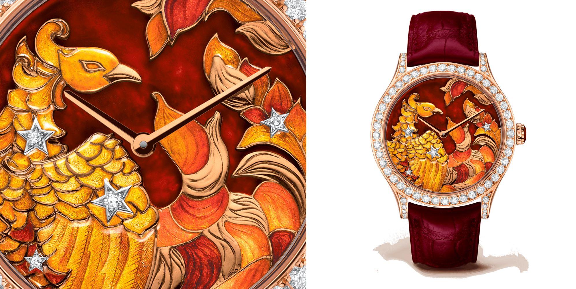 Midnight Constellation Phoenix 腕錶by Van Cleef & Arpels。