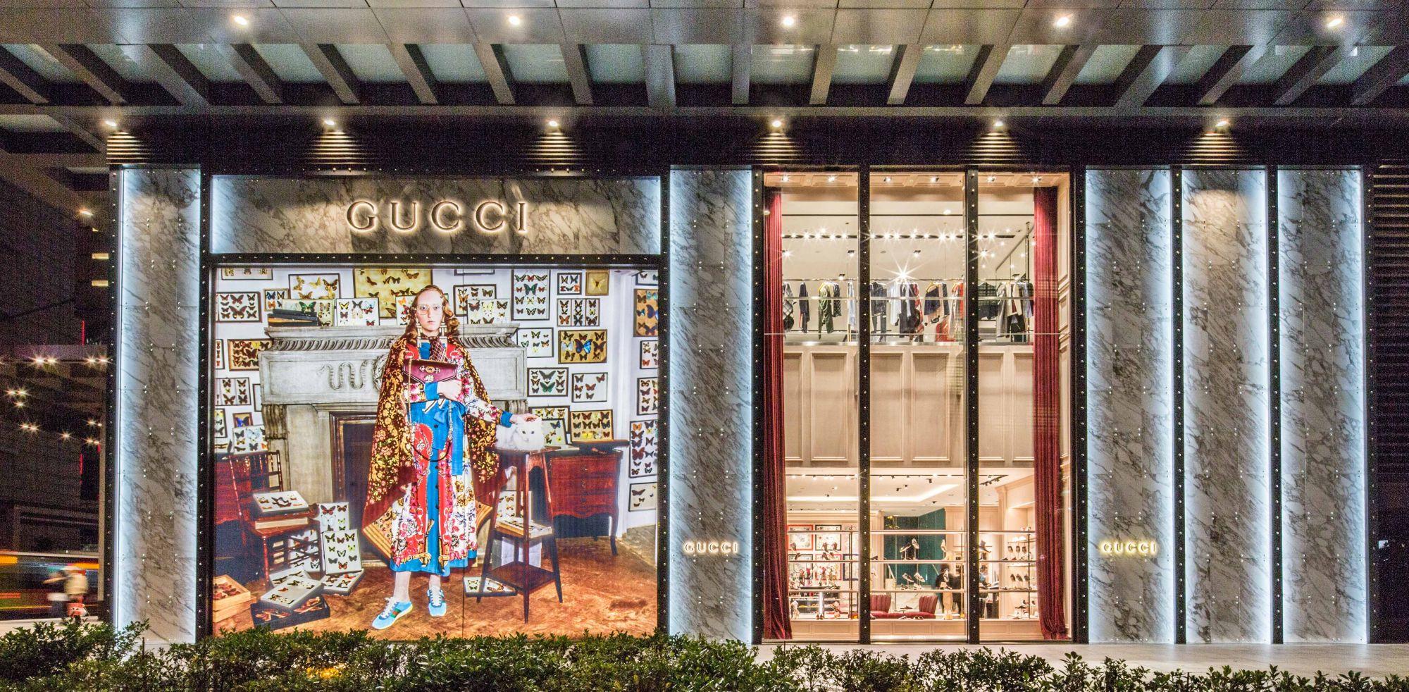 Gucci A4店 的新面貌充滿品牌創意總監 Alessandro Michele 的絕妙奇想。