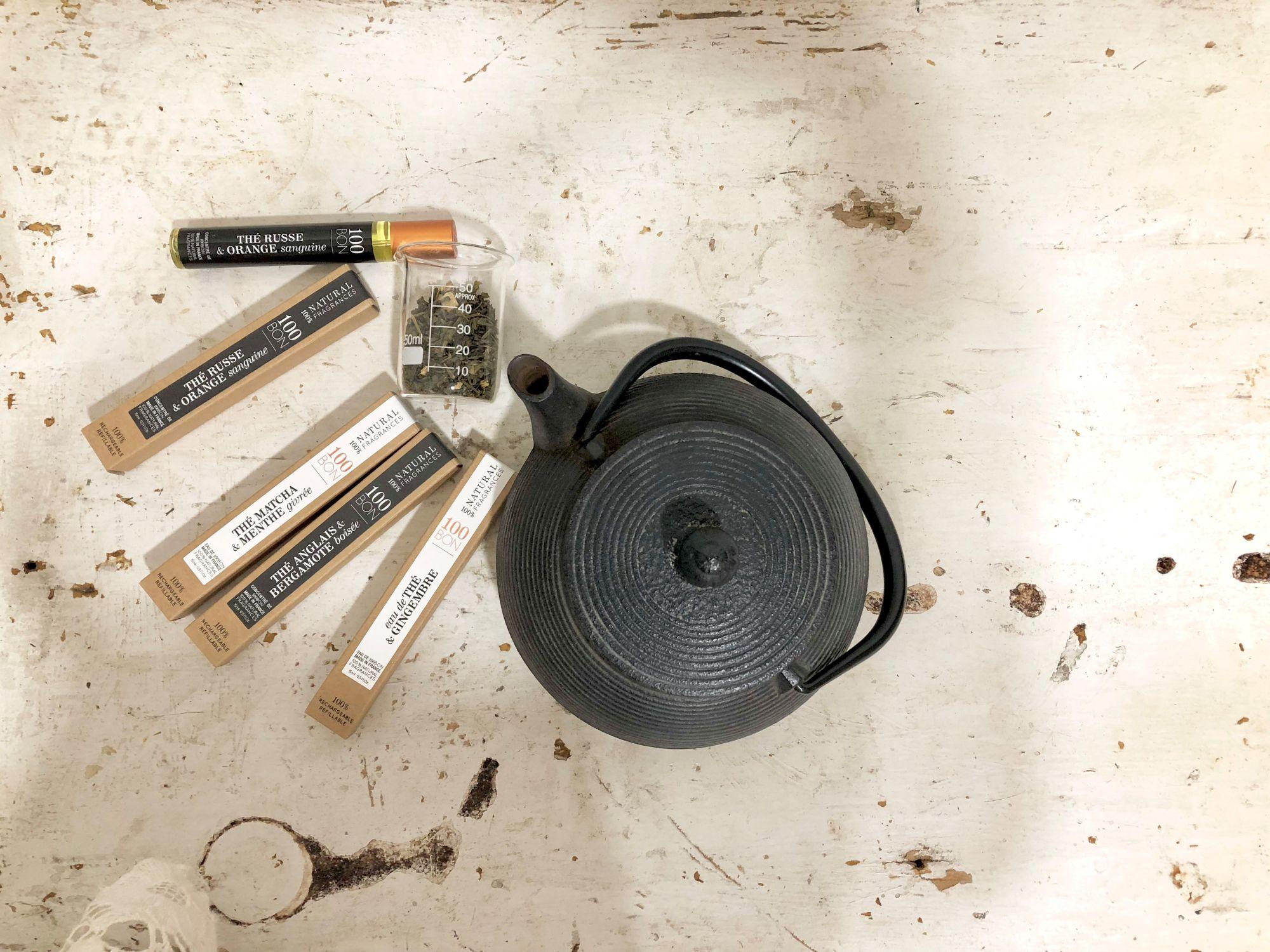 法國天然香水100bon推出全新茶韵系列!用新鮮茶香堆疊出最迷人的靈魂