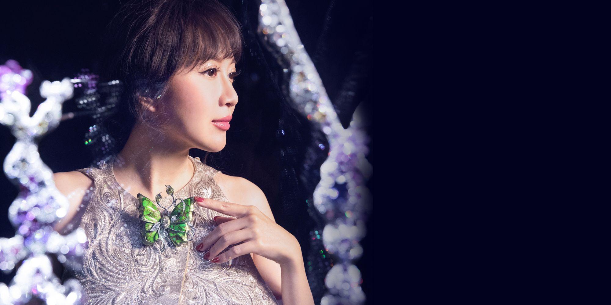讓旋律與色彩在心中迴盪,ANNA HU用珠寶交響詩紀錄她的生命樂章