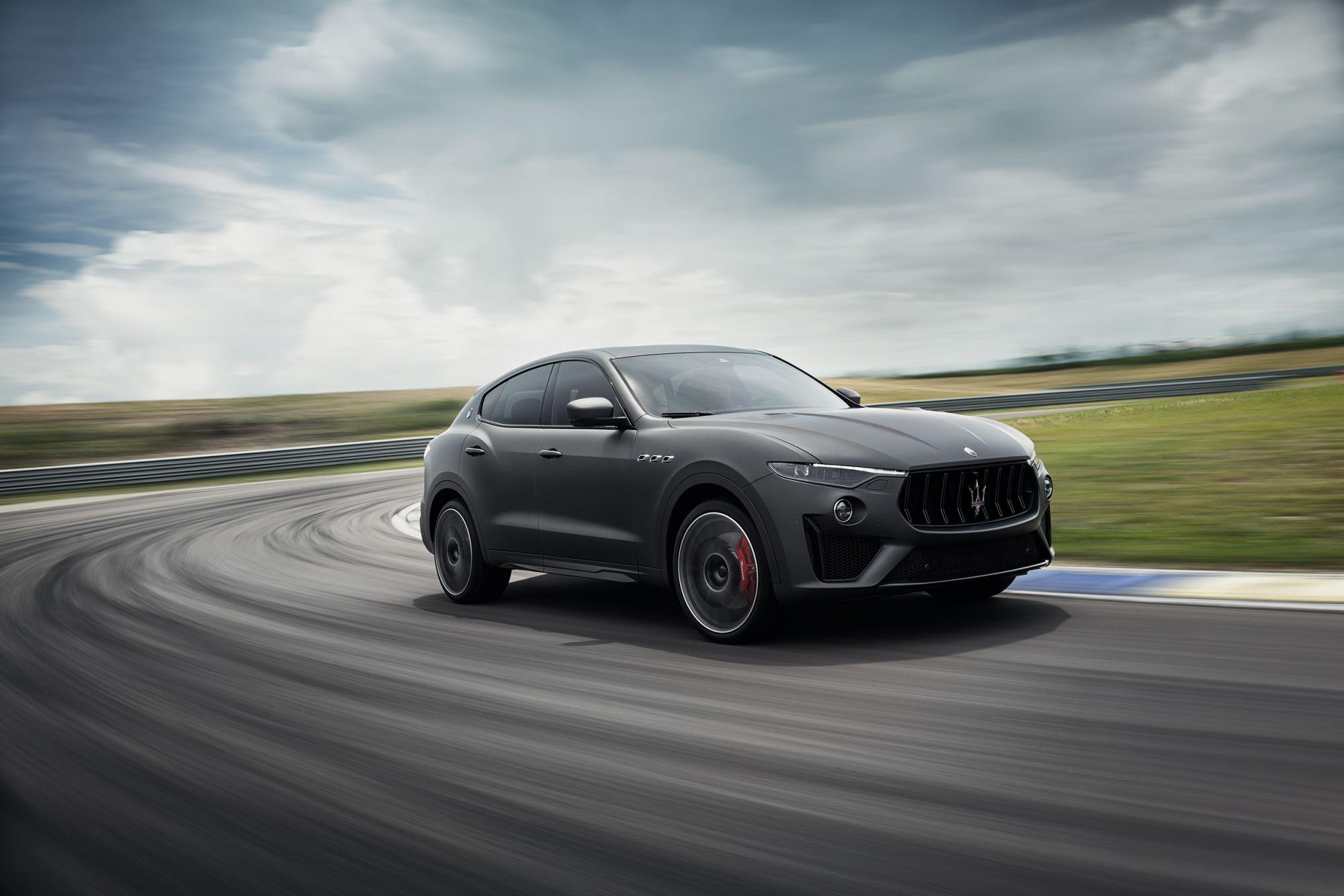 Maserati Levante Trofeo奔馳台中麗寶國際賽道,展現SUV的賽道實力