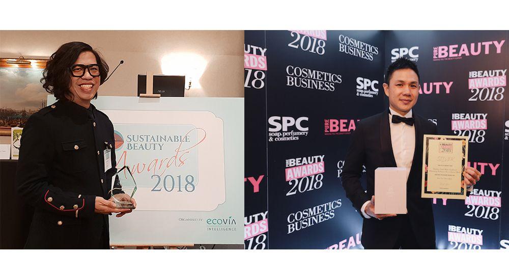 這兩個品牌來自台灣!征服歐洲美妝大獎,歐萊德、提提研紛傳獲獎捷報,閃耀國際!