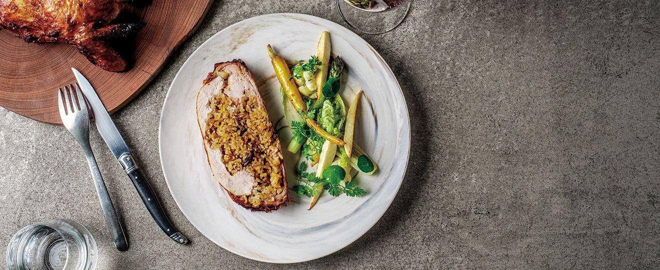 農曆年節應景菜色八寶雞簡單做!VG Seafood Bar主廚陳子洋教你4步驟就學會